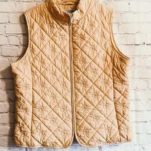 Women's Pendleton quilted vest XL